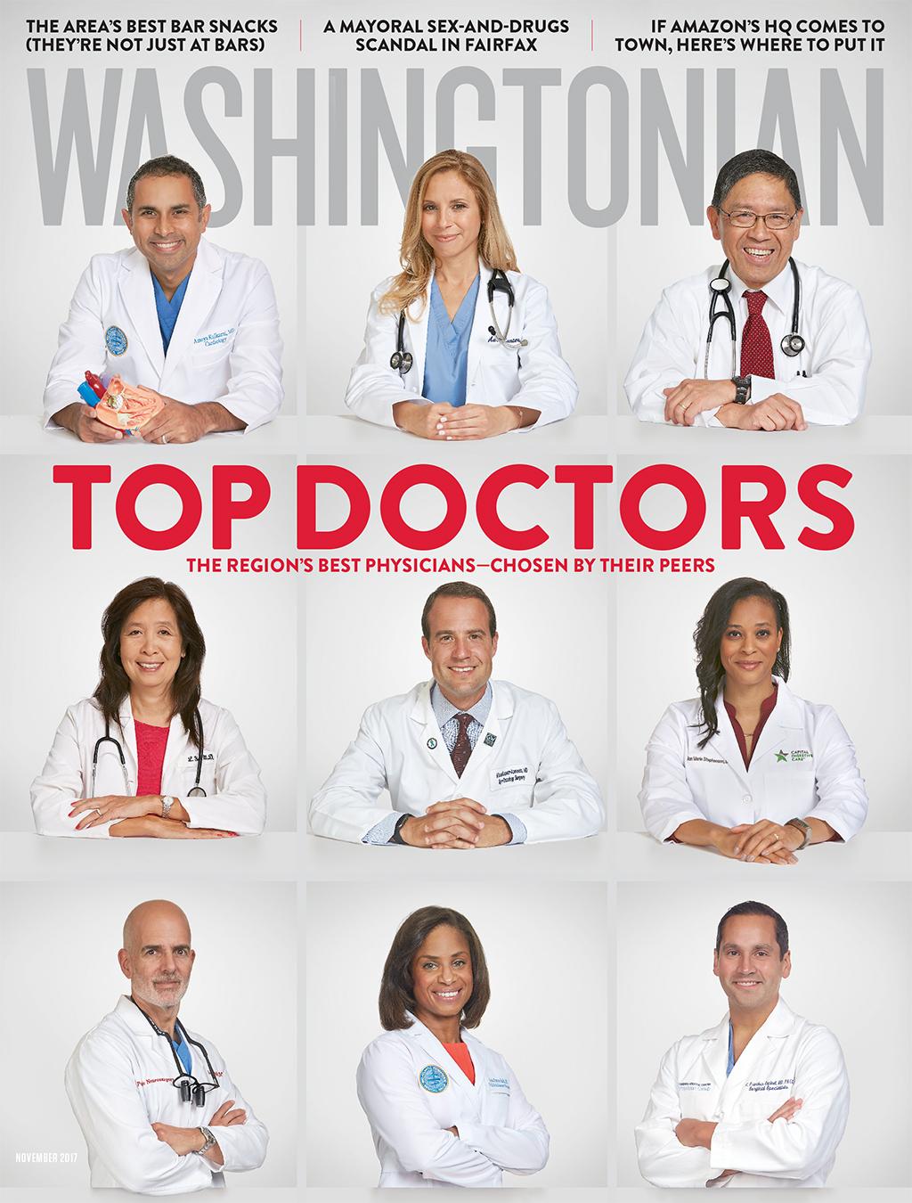 Washingtonian Top Doctors 2015 cover
